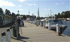 Port Fairy's working wharf