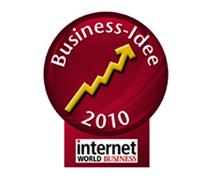 INTERNET WORLD Business-Idee 2010