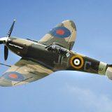 Die Spitfire erwies sich der Me 109 als ebenbürtig.